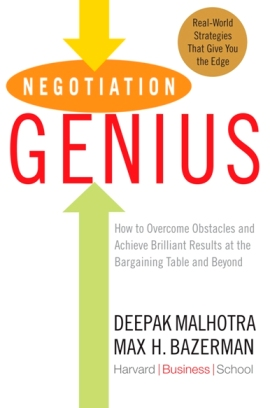 Buy Negotiation Genius at Amazon